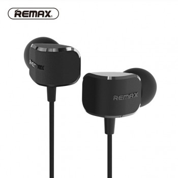 Remax RM-502 In-ear Stereo Wired Music Headset Earphone 3.5mm Jack - Μαύρος